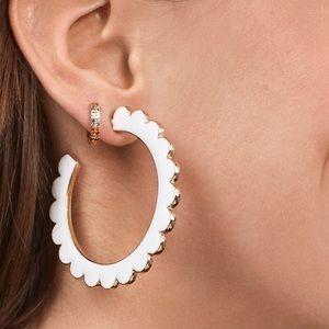NWOT Anthropologie baublebar hoop earrings